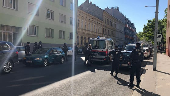 Die WEGA-Beamten nahmen den Mann in der Patrizigasse (Floridsdorf) fest.