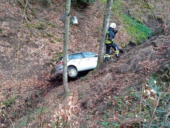 Unfallopfer verbrachte Nacht im Auto