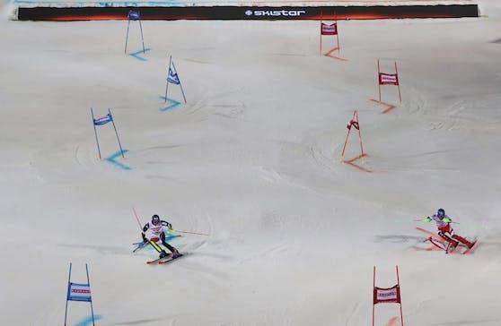 Marco Schwarz raste in Cortina zu WM-Gold.