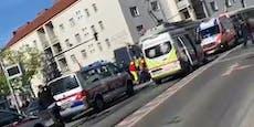 Wienerin von einfahrender Bim in Floridsdorf erfasst