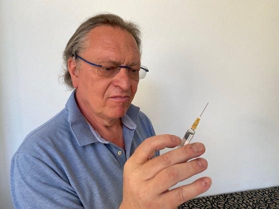 Hausarzt Dr. Maximilan Wudy, der einen neuen Ärzteverein gegründet hat, um sich seitens der niedergelassenen Hausärzte bei Politik und Verwaltung Gehör zu verschaffen.