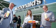 McDonald's überrascht Kunden mit neuem Container-Lokal