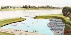So will Linz die geplante Badebucht doch noch retten