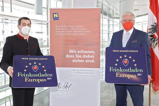 Günther Sidl und Franz Schnabl (beide SPÖ) wollen Gemeinde vor den Vorhang holen.