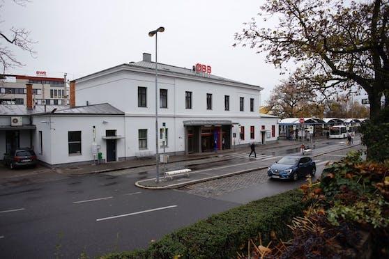 Der Bahnhof in Mödling