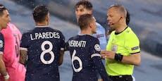 Schiedsrichter Kuipers soll Paris-Stars beleidigt haben
