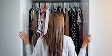 So bringst du mehr Ordnung in deinen Kleiderschrank