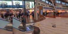 """Riesige Warteschlange bei Shoppingansturm auf """"Primark"""""""