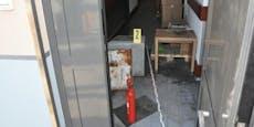 Einbrecher brach über Dächer in Gebäude ein