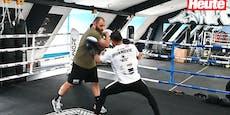 So fightet Thaibox-Meister in Wien gegen Corona