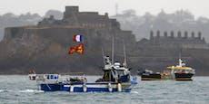 Fischerstreit drohtzu eskalieren – Marine losgeschickt