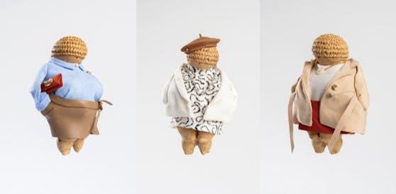 Die Venus von Influ ... äh Willendorf wurde neu eingekleidet.