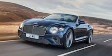 Bentley bringt stärkstes Serienmodell auch als Cabrio