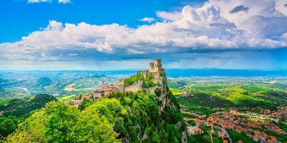 In San Marino wurden erst Ende April die Anti-Corona-Maßnahmen gelockert.