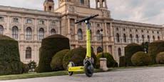 Neue Scooter-Flotte hat Wiener Kapitän
