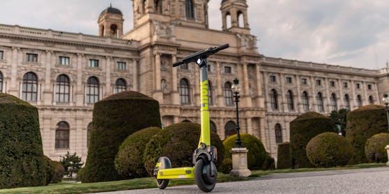 Link-Scooter zum Ausborgen in Wien
