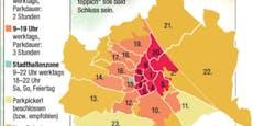 Ganz Wien ist bald eine Parkpickerlzone