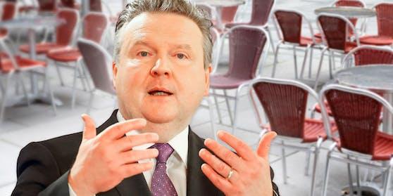 Michael Ludwig entscheidet über die Gastro-Öffnung in Wien.