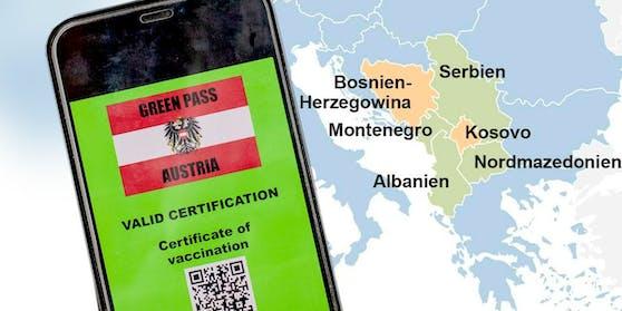 Edtstadler fordert: Der Grüne Pass soll auch in den Westbalkanstaaten gelten.