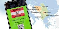"""""""Grüner Pass"""" soll auch für Balkanstaaten gelten"""