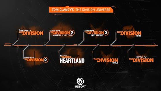"""Ubisoft erweitert das """"Tom Clancy's The Division""""-Universum."""