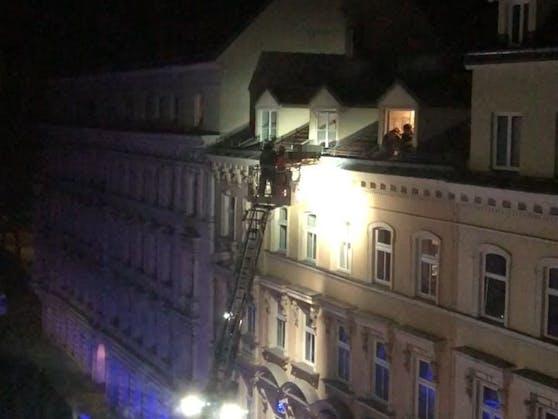 Lebensrettung in Wien-Wieden