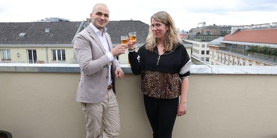 "P(l)opcorn: ""Heute""-Redakteurin Sandra Kartik und Nicolas Kröger"