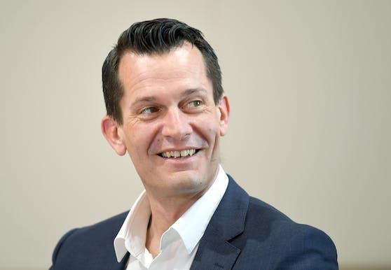 Sozial- und Gesundheitsminister Wolfgang Mückstein (Grüne) im Rahmen eines Interviews mit der APA