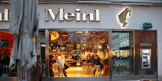 """Luxus-Tempel in Wien: """"Meinl am Graben"""" wird jetzt renoviert"""