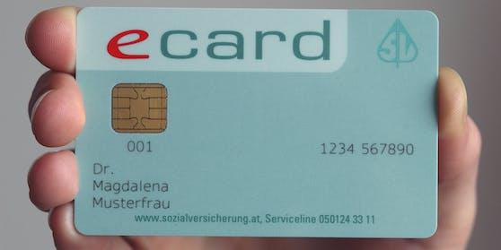 """Die e-card wird doch nicht für den Nachweis im Rahmen des """"Grünen Passes"""" verwendet werden können."""