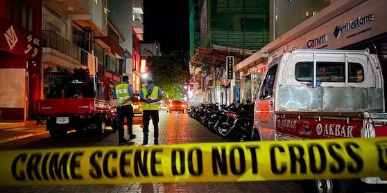 Am Donnerstag kam es in der Hauptstadt der Malediven, Male, zu einer Explosion.