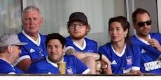 Pop-Star Ed Sheeran wird Sponsor bei England-Klub