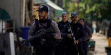 25 Tote bei Drogenrazzia in Rios Armenviertel