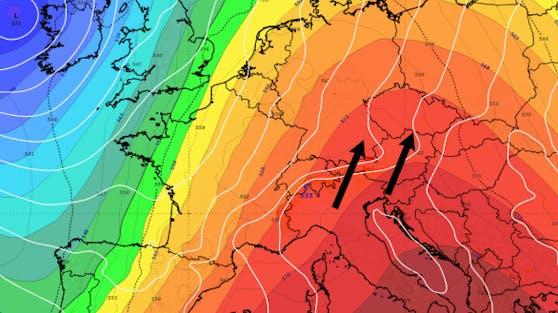 Ab Sonntag wird es zunehmend föhnig in den Nordalpen