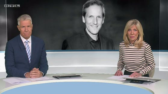 RTL-Moderatoren Peter Kloeppel und Ulrike von der Groeben.