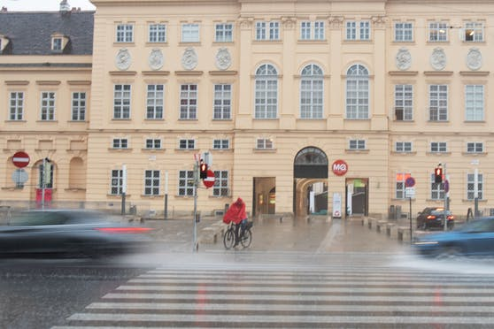 Regenwetter in Wien. Symbolbild