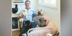 Nach dem Tod seines Hundes tut dieser Mann folgendes...