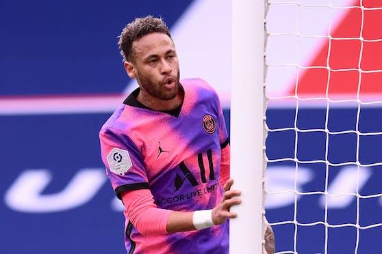 Neymar steht vor der Verlängerung bei Paris.