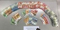 Polizei stellt bei Dealer mehrere Tausend Euro sicher