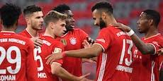 Die Bayern haben heute zweimal die Meister-Chance