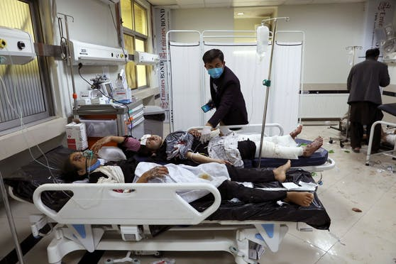 Am Samstag ereignete sich in Kabul eine Explosion in der Nähe einer Schule. Mindestens 25 Menschen kamen dabei ums Leben