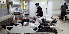 25 Tote & Dutzende Verletzte bei Explosion nahe Schule
