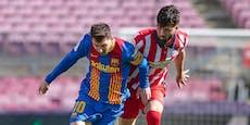 Barca-Attacke abgewehrt: Atletico bleibt mit 0:0 Leader