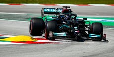 Hamilton rast in Barcelona zur 100. Karriere-Pole