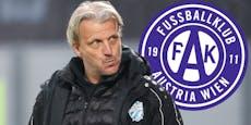 Trainer-Frage: Schopp zur Austria oder doch zum LASK?