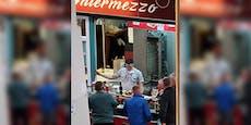 Kebab-Stand in Fünfhaus feierte mit Gästen im Lockdown