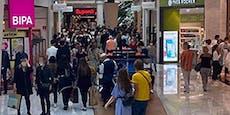 Massenansturm auf Geschäfte nach dem harten Lockdown
