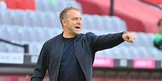 """Ärger um Bayern-Coach: """"Zeig mir keinen Vogel, Hansi"""""""
