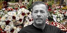 Kranz-Krieg bei Willi Herrens Begräbnis
