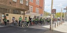 300 Teilnehmer bei Raddemo gegen Ostumfahrung